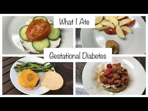 What I ate | Pregnancy Diet | Gestational Diabetes | Glucose Checks | Low Carb Vegetarian