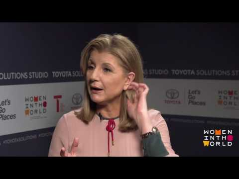 WITW TOYOTA SOLUTIONS STUDIO 2017: Arianna Huffington