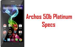 Archos 50b Platinum Specs & Features