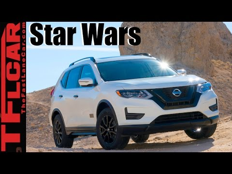 2017 Nissan Rogue One: Nissan Drives to the Dark Side