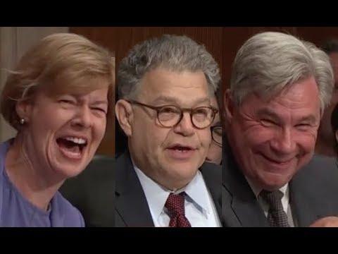 Al Franken CRACKS HILARIOUS JOKE During Senate Hearing & the Room ERUPTS IN LAUGHTER