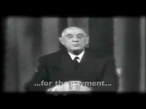 Charles de Gaulle, Monetary Crisis Ghost of 1965