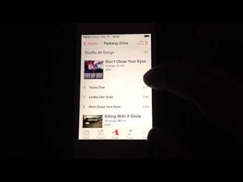 iOS 7 crash bug (Music app)