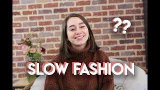 SLOW FASHION : C'EST QUOI ? | ladoucemelodie