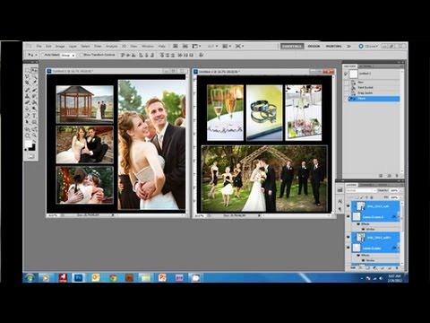 How to Create a Wedding Album in Photoshop YouTube