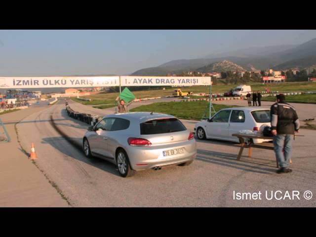 VW Scirocco TSI vs Peugeot 106 GTi