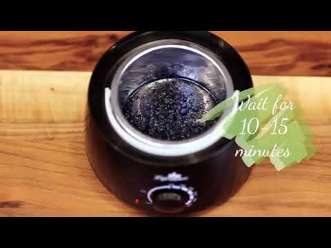 How to use Lifestance Wax Warmer Hair Removal Kit