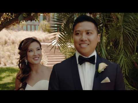 4K Stunning Wedding video at Santiago Vineyard Estate, Orange, California
