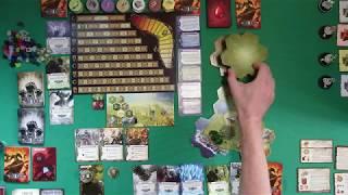 [18-4-1 MageKnight] Рыцарь-маг, правила. Урок 1, начальная раскладка и обзор правил