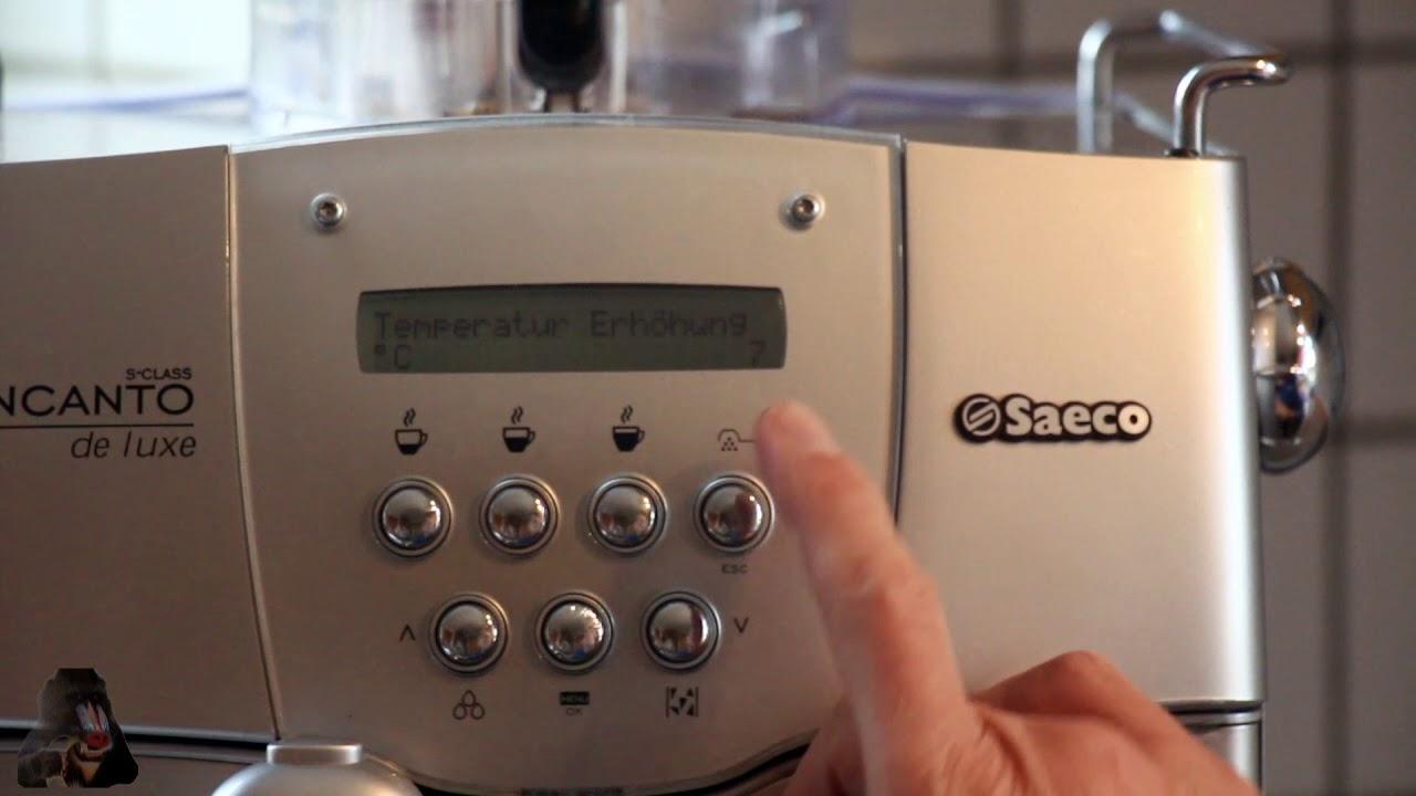 Berühmt How To: Diagnose und Test-Modus Saeco Incanto Deluxe SUP 021YBDR MS76