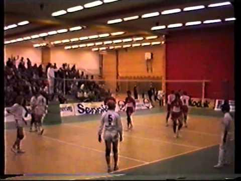 Kolbotn - Randaberg Cupfinale volleyball 1989 - del 2