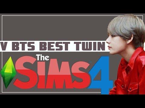 TUTORIAL THE SIMS 4 - V BTS KW SUPER