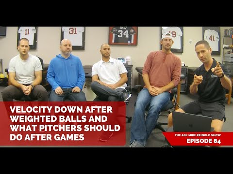 Velocity Down After Weighted Balls and What Pitchers Should Do After Games