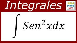 INTEGRALES TRIGONOMÉTRICAS - Ejercicio 8