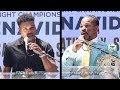 ERROL SPENCE VS SHAWN PORTER - FULL LOS ANGELES PRESS CONFERENCE & FACE OFF VIDEOS
