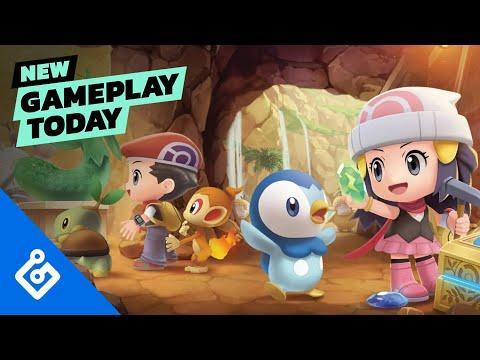 Pokémon Brilliant Diamond and Shining Pearl   New Gameplay Today