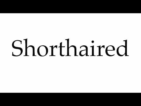 How to Pronounce Shorthaired