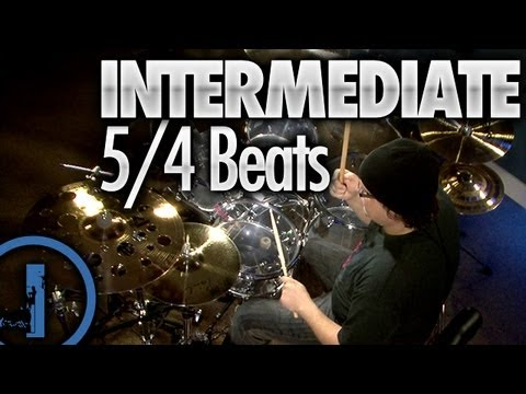 5/4 Drum Beats - Intermediate Drum Lessons