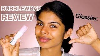 NEW Glossier Bubblewrap Eye + Lip Cream Review
