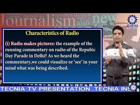 Radio As A Medium Of Masscommunication | Mr. Mayank Arora (Asst. Prof.) | BA(J&MC) TIAS On Tecnia TV