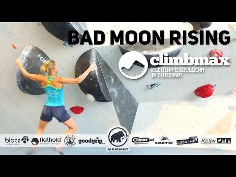 BOULDER BUNDESLIGA   Station 11  Boulder 49 Bad Moon Rising