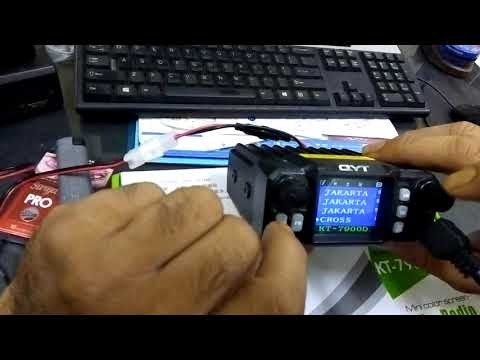 RIG Mini Quad Band QYT KT7900D unboxing / review + setting delay repeater