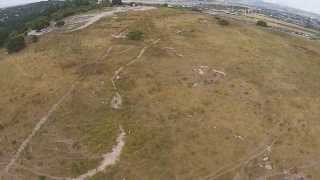 Beit Shearim Aerial View (BibleWalks.com)