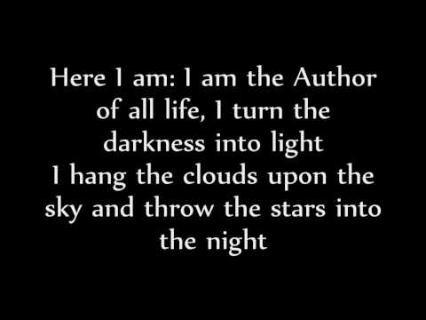 The Creation Song by Kate Simmonds (Lyrics Video)