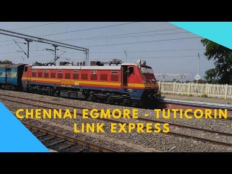 16129   Chennai Egmore - Tuticorin Link Express   High Speed + Power Locomotive