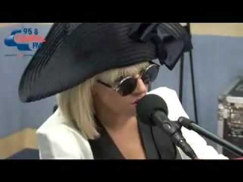 Lady GaGa - Paparazzi Acoustic @ Capital FM Radio