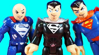 Imaginext Superhero Green Lantern Batman Superman And Lex Luthor Battle Joker Batman & General Zod