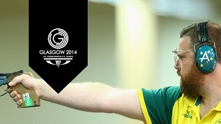 India Guarranteed Gold & Silver   50m Pistol Men's Finals   Day 5 XX Commonwealth Games