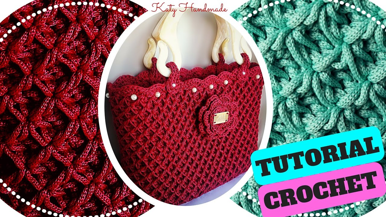 Tutorial Crochet Punto Fiorellini In Rilievo O Thai Uncinetto