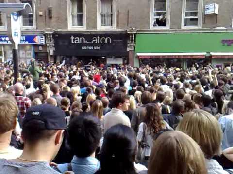 Michael Jackson Tribute - Mass Moonwalk Flashmob - Liverpool Street Station, London UK - Part 1