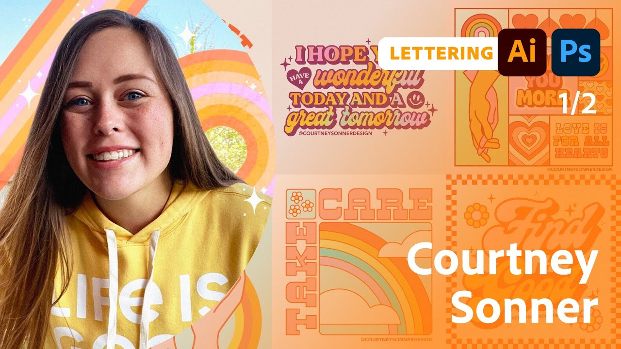 Lettering for a Summer Festival with Courtney Sonner - 1 of 2