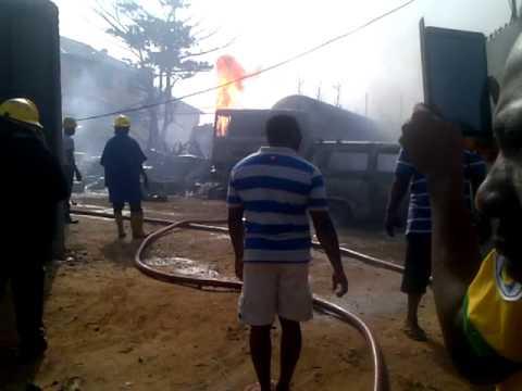 Gas Plant Explosion in Okota Lagos