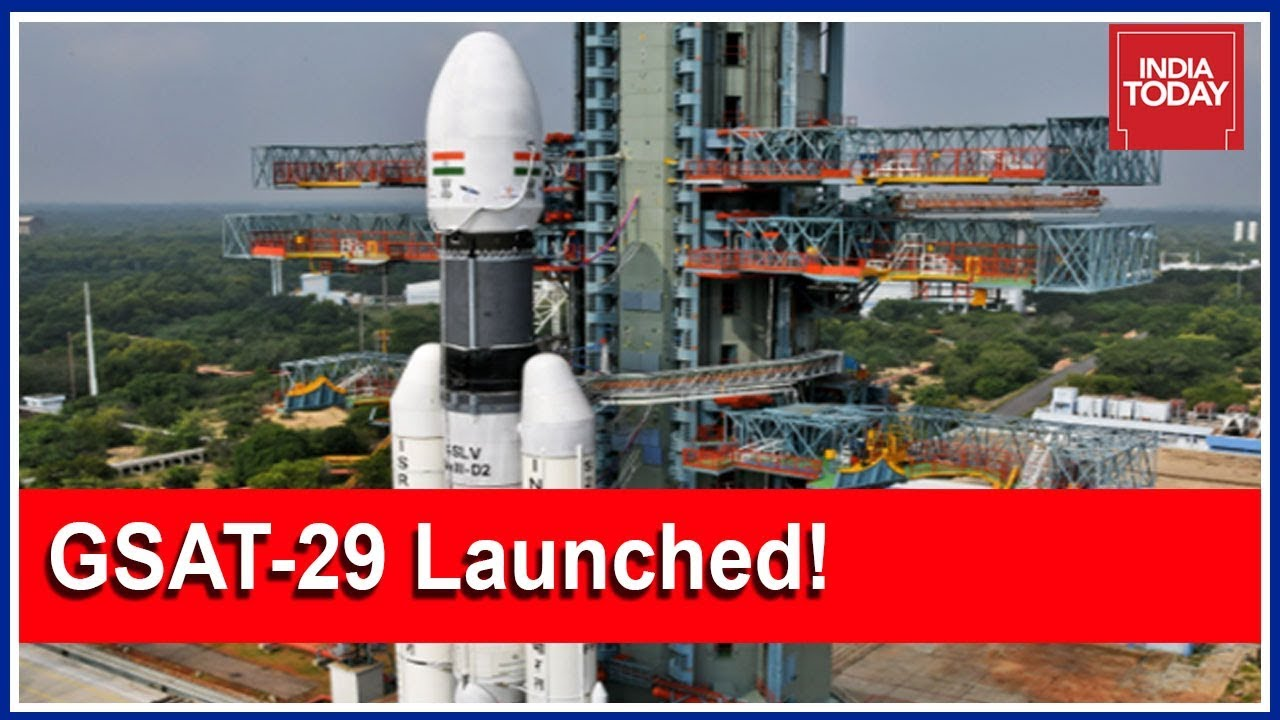 Watch Live: ISRO Successfully Launches Communication Satellite GSAT-29 | 5ive Live