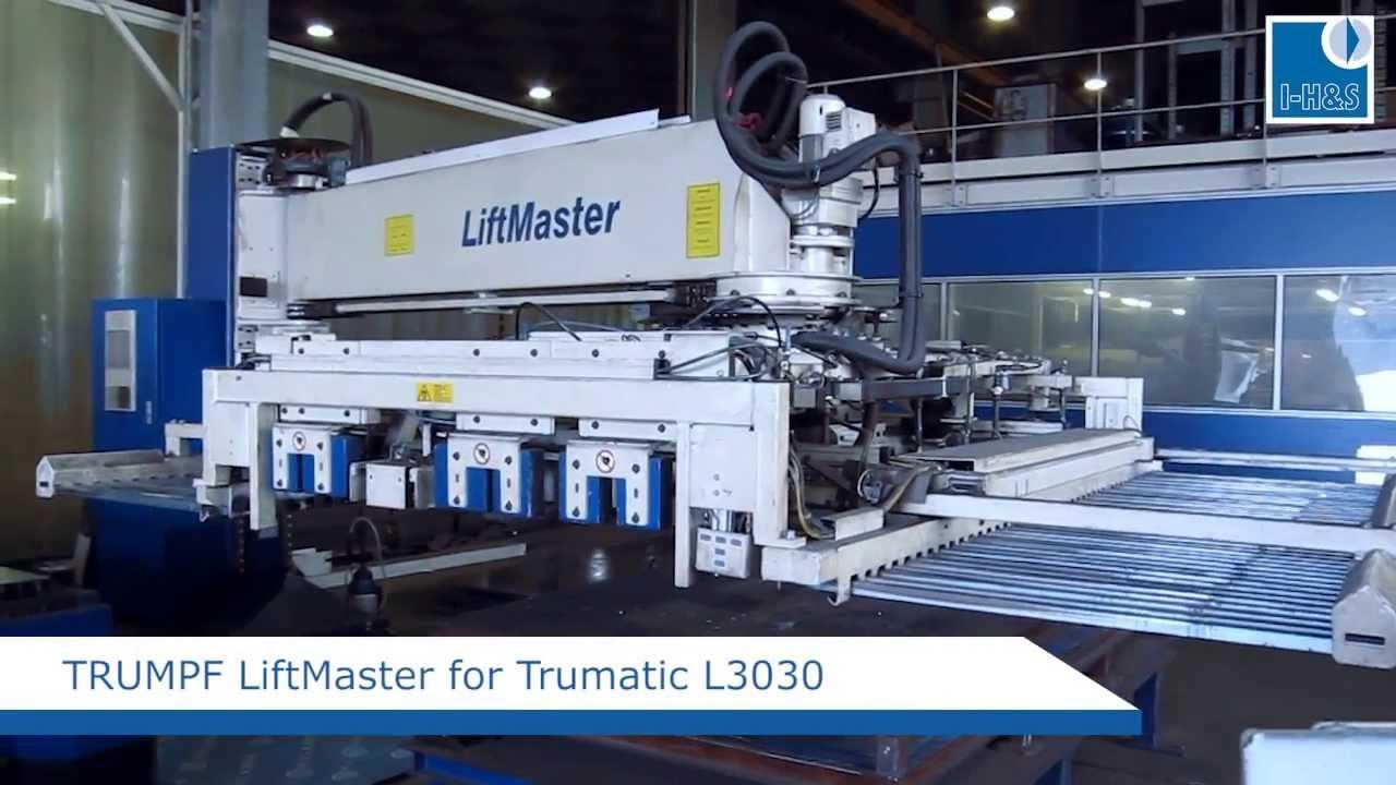 Trumpf Liftmaster L3030 Second Hand Trumpf Machines
