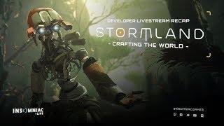 Stormland Developer Livestream Recap – Crafting the World