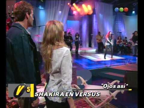 Shakira, Ojos Así - Versus