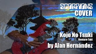 Kojo No Tsuki - Scorpions COVER by Alan Hernandez (Free Backing Track)