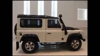 Land Rover Defender 'Fire & Ice' Editions Videos