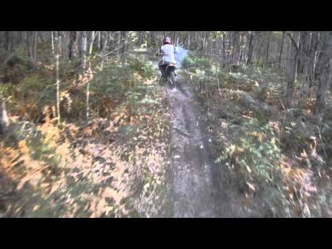 Gasgas EC300 tight Single track in Tasmania.mp4
