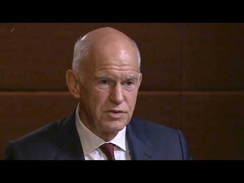 """Dialogue"" with former Greece Prime Minister George Papandreou"