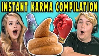 Baixar ADULTS REACT TO INSTANT KARMA COMPILATION #2