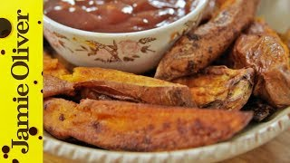 Roast Sweet Potato Wedges | Tim