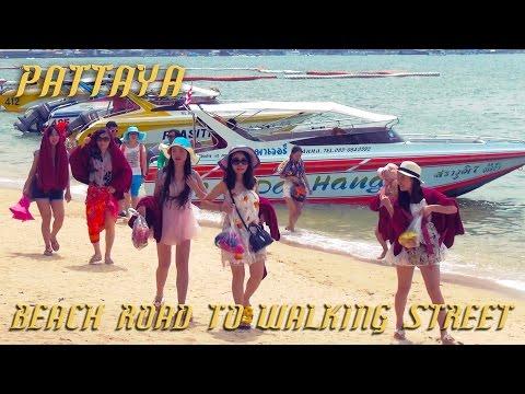 Pattaya Thailand – Beach Road to Walking Street