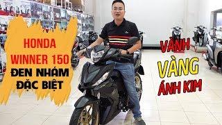 Honda Winner 150 2018 Đen Nhám Đặc Biệt Vàng Ánh Kim ▶ Đánh giá chi tiết