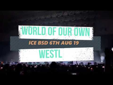 WORLD OF OUR OWN / Westlife 20 Tour Asia Live in Jakarta - Indonesia 6th  Aug, 2019