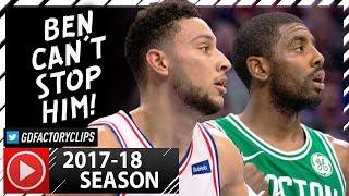 Kyrie Irving vs Ben Simmons PG Duel Highlights (2017.10.06) Celtics vs Sixers - SICK!